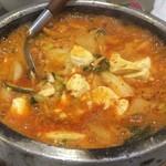 いる - 純豆腐チゲ