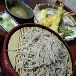 常念 - 「天ざる」¥1,510(税込)