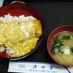 濱田屋 - かつ丼卵乗せ②
