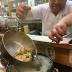 天然すっぽん料理  鱧料理 季節料理 万両 - この人が大将❤︎連写で撮れ!って言われてこのパターンの写真10枚ある^_^;