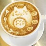 コーヒー&ジェラート ザ カップス - カフェ・ラテ・アート
