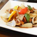 中華食堂 あんじょう - 5/7再訪 黒酢の酢豚ランチ