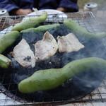 山元商店 - 2016.05 そら豆の蒸し焼きもおいしい~