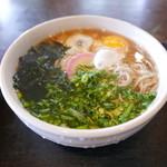 江戸そば 梅の木 - 料理写真:月見そば500円