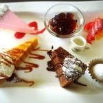 風 - 料理写真:手作りケーキ盛り合わせ!