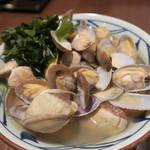 丸亀製麺 - あさりうどん590円