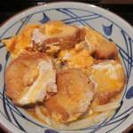 丸亀製麺 - 油麩玉子とじうどん490円
