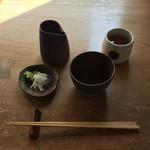 そば岡部 - 160507 天付き蕎麦