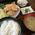 いさかや - 唐揚げ定食700円