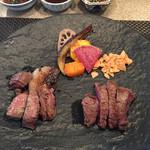 鉄板焼 ボヌール - 熟成肉のステーキ