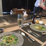 鉄板焼 ボヌール - 月替わりランチコース4000円 前菜