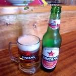 スカスカ - インドネシアビール、ビンタン