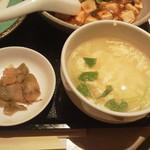 北京料理桂蘭 - スープと搾菜