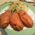北京料理桂蘭 - 手羽先の唐揚げ