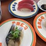 黒潮寿司 - 料理写真:マグロ、〆鯖