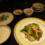 銀座アスター - ランチセット ¥1,620