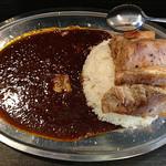 カレー コンドル - 大盛り+チャーシュー