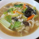福の市 - 五目刀削麺