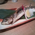 50738803 - 飛び魚1本塩焼き(600円)