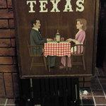 レストラン・テキサス - お店の看板