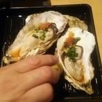 くつろぎや - 夏牡蠣