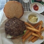 50743651 - ハンバーガー 開腹