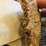 アルベロ カフェ - クッキーの断面アップ