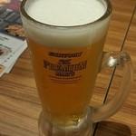 串の輪 - 運転チェンジで生ビール