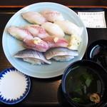 50748296 - 地魚5点寿司盛合せ