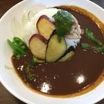 スパイス工房KANON - 焙煎カレー+地元野菜のトッピング!
