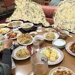 餃子の王将 - 頼み過ぎた^^;