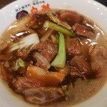 皇蘭 - 牛バラあんかけ麺 880円