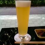 廚菓子くろぎ - 八海山ビール