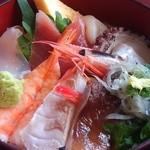 瀬浜寿司 堂ヶ島 - 海鮮丼