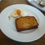 カフェ ル パラディ - パウンドケーキ