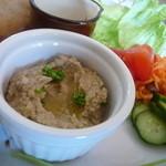 カフェ ル パラディ - ナスとゴマのペースト