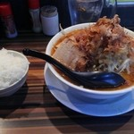50756529 - 味噌らーめん(麺少なめ 野菜、アブラ ちょい増し )