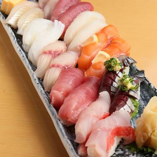 鮮度抜群!新鮮なお魚をお寿司でご提供◎
