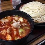 50761625 - ♪旨辛肉汁うどん中盛り レベル3 ¥980