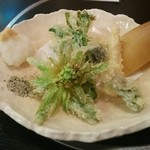 海鮮問屋 吾作どん - 春野菜天ぷら ¥780