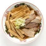 生姜醤油メンマラーメン