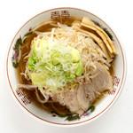 生姜醤油野菜ラーメン