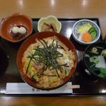 つきじ宮川本店 - 鰻玉丼セット
