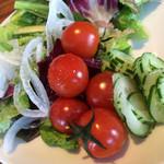 50766560 - ベルラーゴ ランチコース(¥2800)→大地の野菜バー
