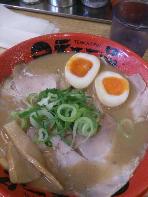 天下一品 総本店 - 煮玉子チャーシュー麺949円