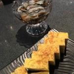 50767354 - なまこ酢と玉子焼き。