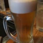 お好み焼き 旨処 ひろみ - 生ビール