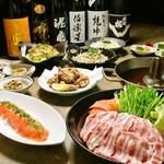 ごはん居酒屋 ばんげ - ばんげの人気メニューコースに豚しゃぶが追加!