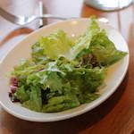 カフェ88 - サラダはフツーなグリーンサラダ