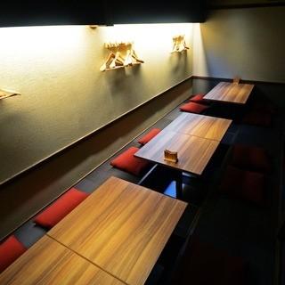 ◇◆ゆっくりと過ごせる個室席もご用意しています◆◇